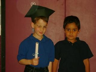 Tyler and Jacob Graduate